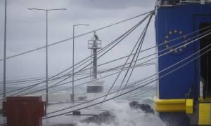 Καιρός: Απαγόρευση απόπλου από Ζάκυνθο και Κεφαλονιά προς Κυλλήνη