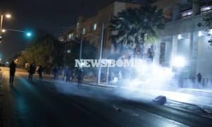 Πολυτεχνείο: Έτσι ξεκίνησαν τα επεισόδια στη Λ. Αλεξάνδρας - Βίντεο ντοκουμέντο
