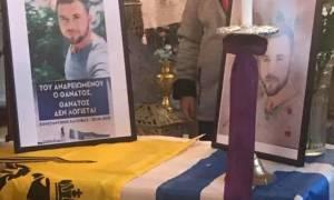 Μνημόσυνο για τον Κωνσταντίνο Κατσίφα στη Μυτιλήνη από τους κατοίκους του νησιού