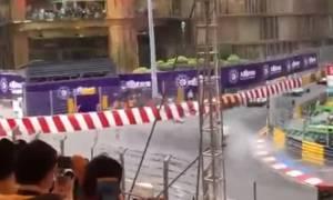 Σοκαριστικό ατύχημα στo Grand Prix του Μακάου: Μονοθέσιο «εκτοξεύτηκε» στις κερκίδες (vid)