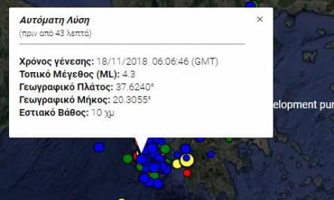 Two light quakes jolt again the island of Zakynthos