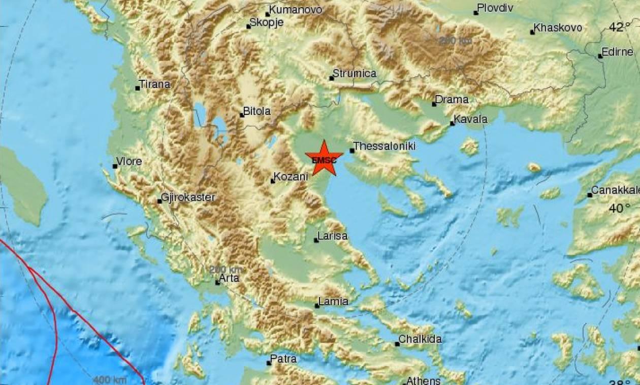 Σεισμός ΤΩΡΑ στο Αιγίνιο - Αισθητός και στη Θεσσαλονίκη (pics)