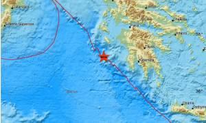 Ισχυρός σεισμός ταρακούνησε τη Ζάκυνθο: Αισθητός και στην Πελοπόννησο