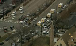 Συναγερμός στο Σικάγο: Ένοπλος άνοιξε πυρ κοντά σε νοσοκομείο - Δείτε LIVE εικόνα