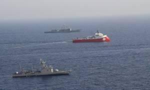 Δραματικές εξελίξεις: Μπήκε στην κυπριακή ΑΟΖ το Barbaros με τέσσερα πολεμικά πλοία