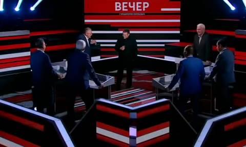 Хинштейн подаст в суд на Жириновского за оскорбление в программе Соловьева