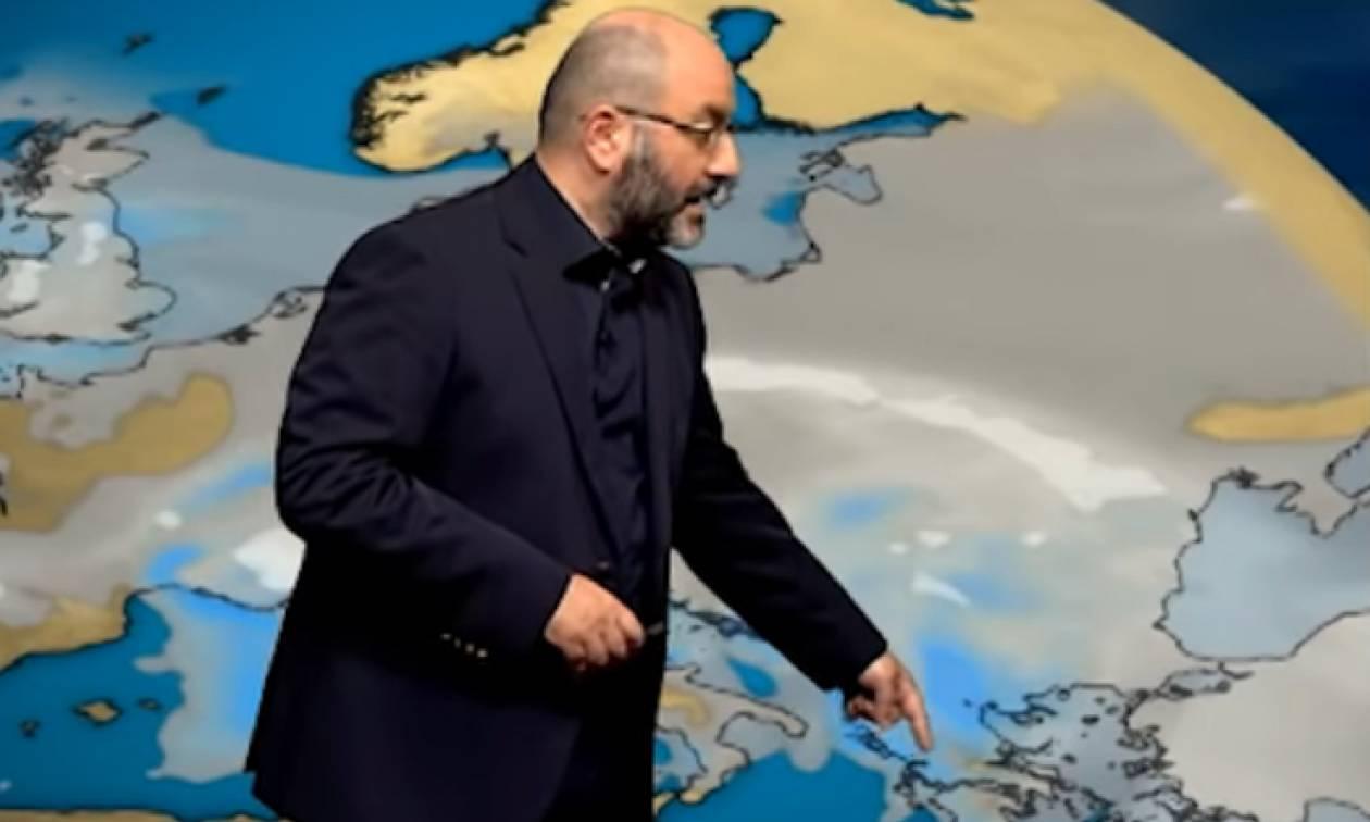 Η εξέλιξη του καιρού: Από τις καταιγίδες στην... Ανοιξη! Η ανάλυση του Σάκη Αρναούτογλου (Video)