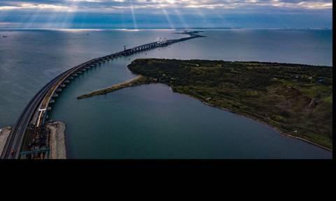 В Крыму ответили на сообщения о проседании моста через Керченский пролив