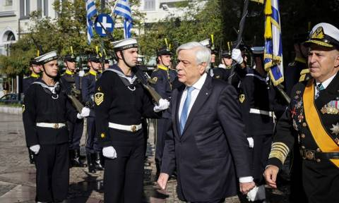 President Pavlopoulos on Armed Forces Day