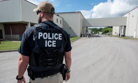 Ice arrests migrant who left church sanctuary for immigration meeting