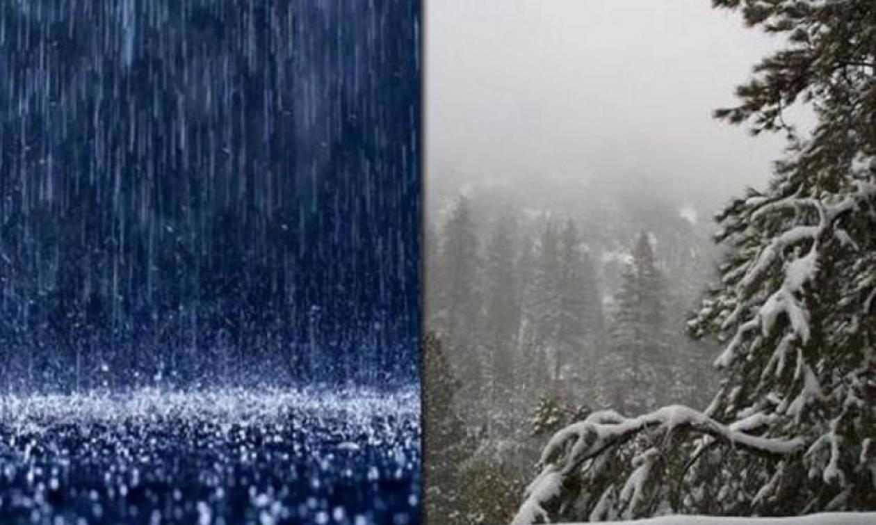 Από κακοκαιρία σε κακοκαιρία. Κρύο και χιόνια από Τετάρτη. Η ανάλυση του Τάσου Αρνιακού (video)