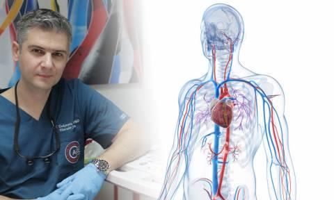 Η αγγειοχειρουργική μέσα από τη ματιά του Νικόλαου Τσεκούρα