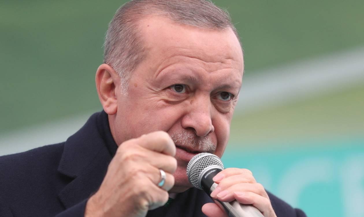 Εκτός ελέγχου ο Ερντογάν: Απειλεί ευθέως Ελλάδα και Κύπρο