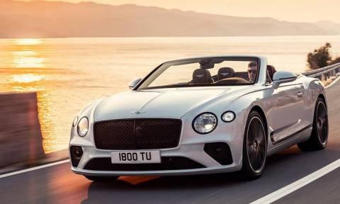H ανοιχτή Bentley Continental GT είναι από τα πιο ακριβά τετραθέσια του κόσμου