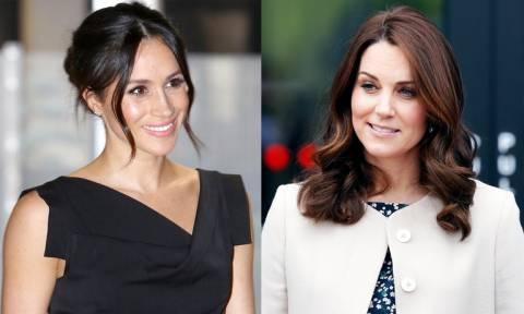Βασιλικός «πόλεμος»: Στα «μαχαίρια» Kate Middleton και Meghan Markle (vid)