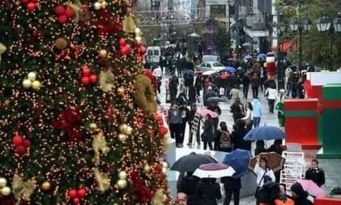 Всегреческая ассоциация торговли опубликовала рождественский график работы магазинов
