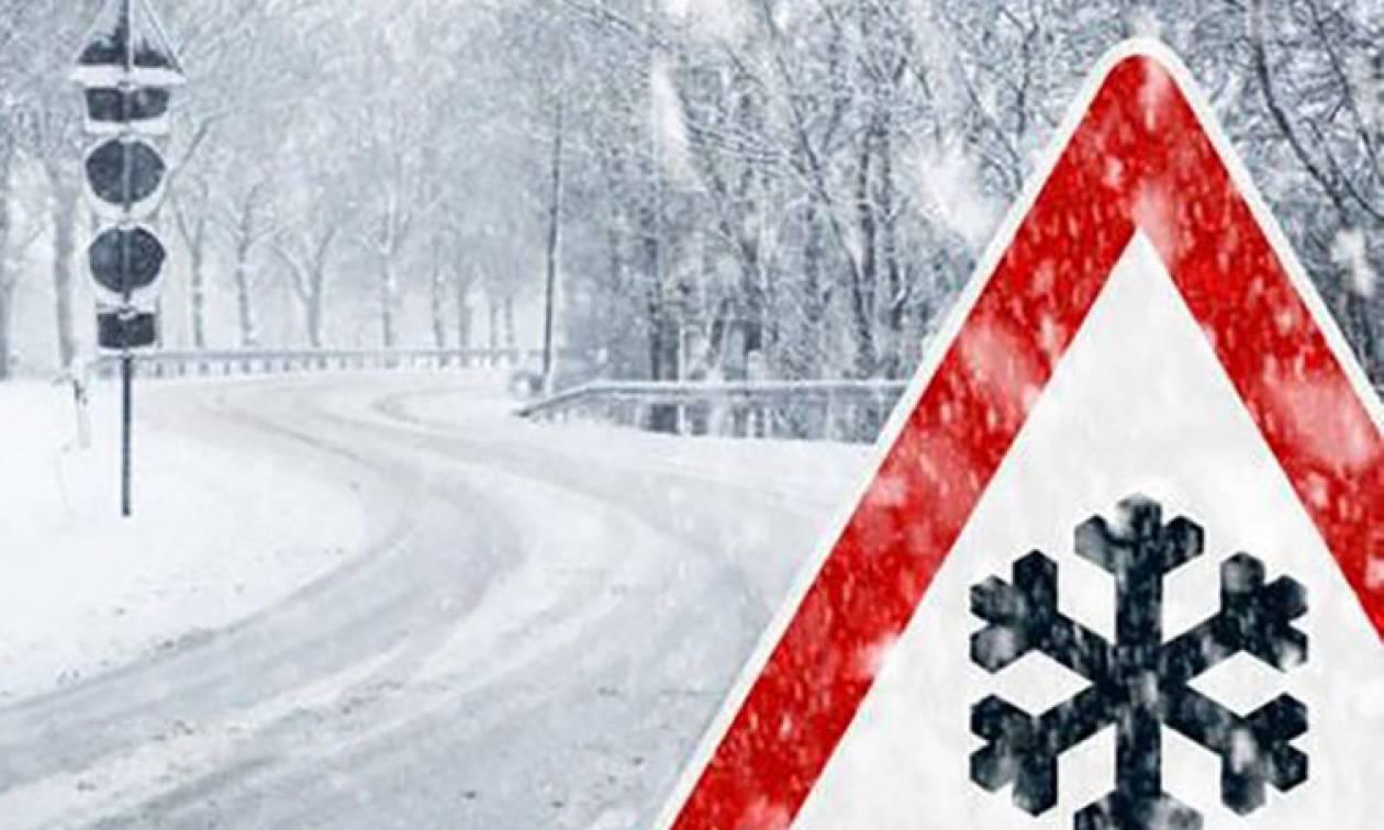Καιρός: Θα συνεχιστούν μέχρι το Σάββατο τα χιόνια και οι βροχές! Ο καιρός μέχρι την Τετάρτη