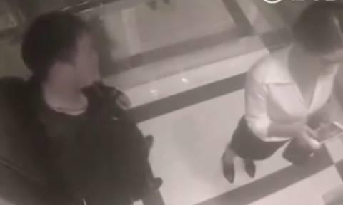 Παρενόχλησε γυναίκα μέσα σε ασανσέρ αλλά αυτό που έπαθε θα το θυμάται μια ζωή (video)