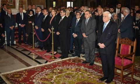 Παυλόπουλος: Η Εκκλησία έχει συνεισφέρει για το λαό και το έθνος όλα αυτά τα χρόνια (pics)