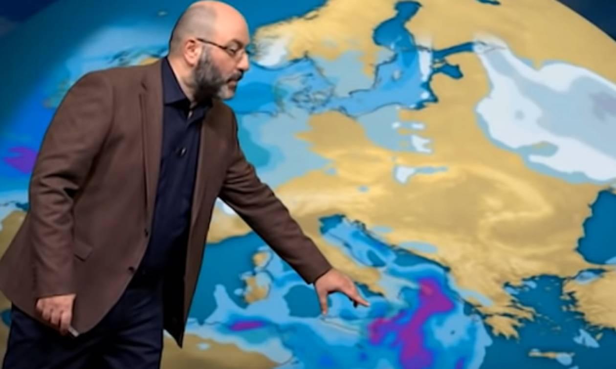 Καιρός: Μετά τα χιόνια... εμμονή θερμών αερίων μαζών. Η ανάλυση του Σάκη Αρναούτογλου (Video)