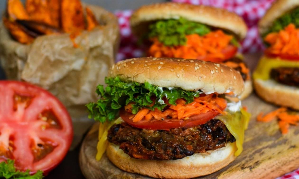 Η συνταγή της ημέρας: Veggie Burger