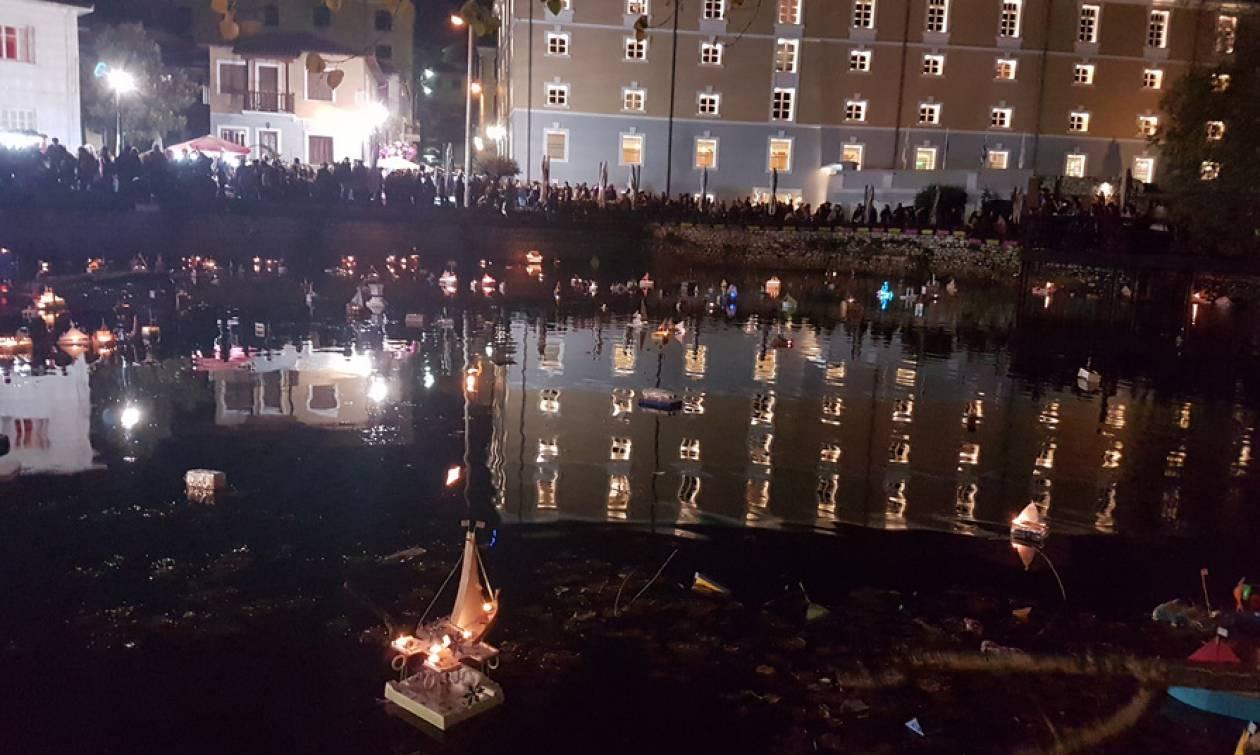 Δράμα: Τα καραβάκια ταξίδεψαν τις ευχές των μικρών καραβοκύρηδων στη λίμνη της Αγίας Βαρβάρας (pics)