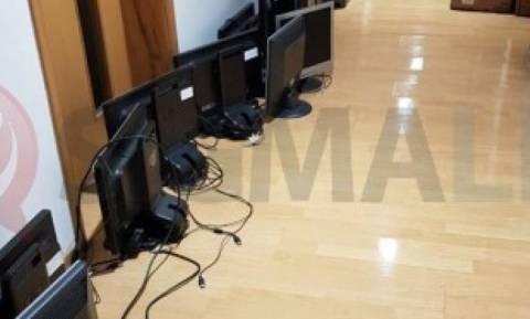Kαιρός: Πλημμύρισε η Βουλή στην Κύπρο (pics+vid)