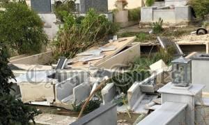 Κύπρος: Εικόνες βιβλικής καταστροφής από την κακοκαιρία (pics)