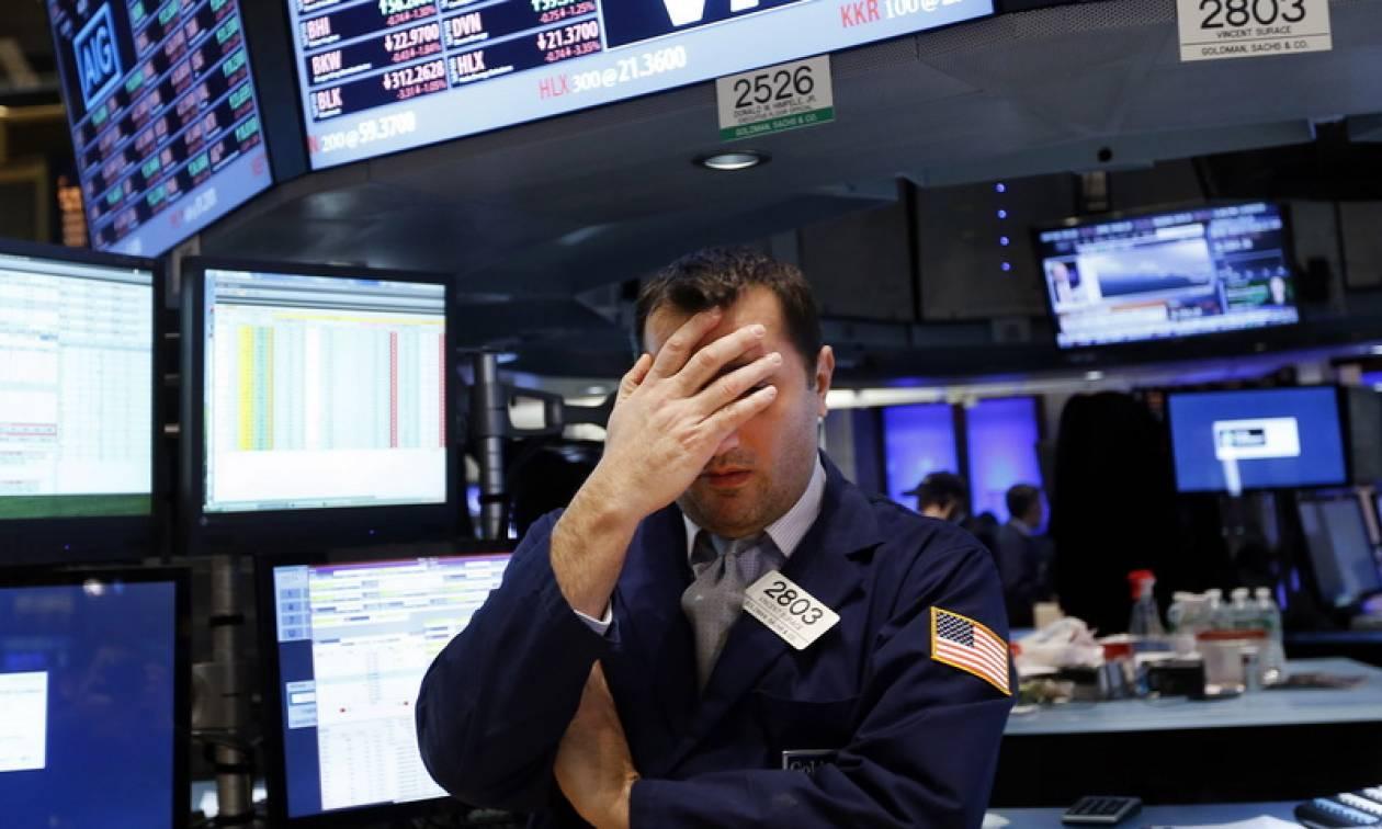 Μεγάλη πτώση στη Wall Street - «Βυθίστηκε» ο Dow Jones