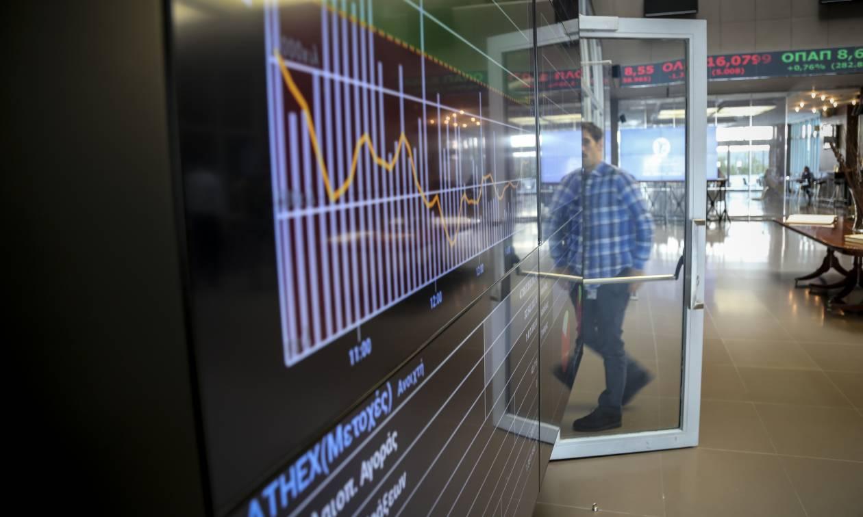 Athens Stock Exchange opening: Drop