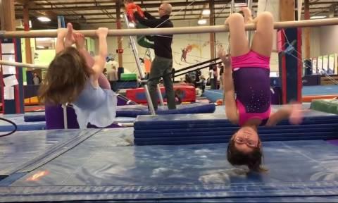 Παιδιά κι αθλητισμός: Αξιαγάπητες στιγμές (vid)