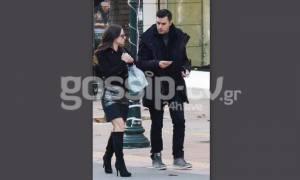 Τσιμιτσέλης-Γερονικολού: Χαλαρή βόλτα στην Κηφισιά για το ερωτευμένο ζευγάρι (pics)