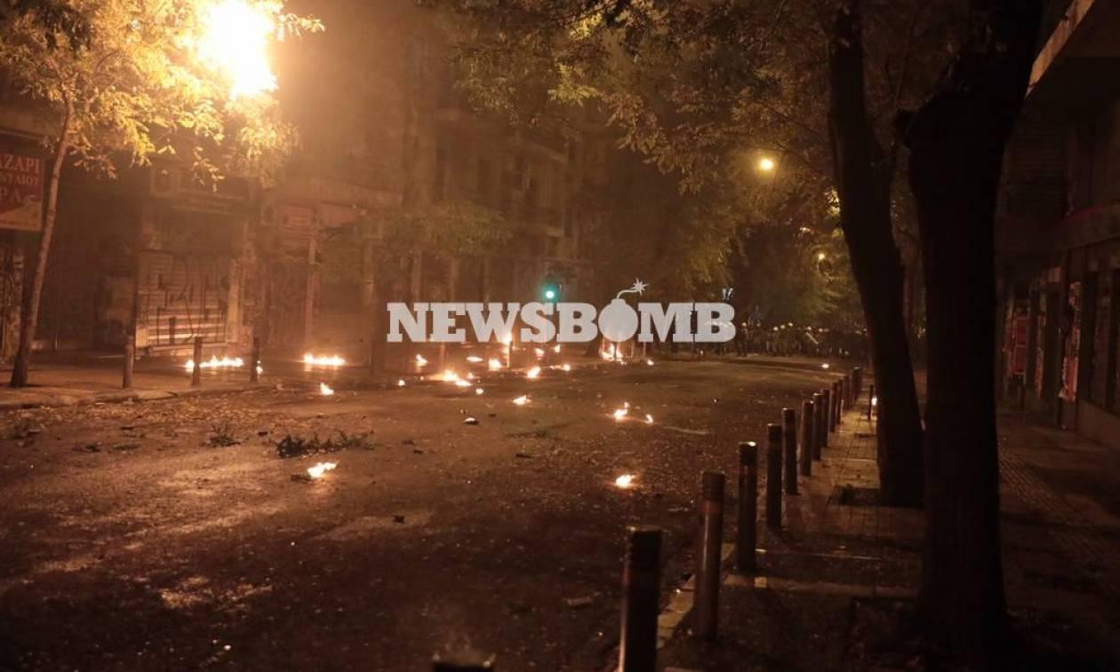 Επέτειος Γρηγορόπουλου: Τραυματισμός ατόμου στην πλατεία Εξαρχείων