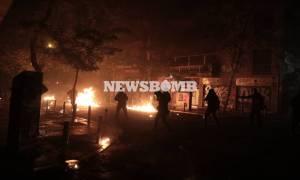 Επέτειος Γρηγορόπουλου: Δύο τραυματίες στα Εξάρχεια