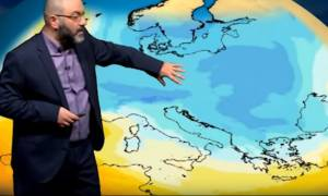 Οι τελευταίες εξελίξεις για την ψυχρή εισβολή της Τετάρτης! Η ανάλυση του Σάκη Αρναούτογλου (video)