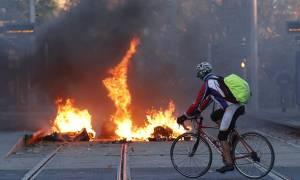 Γαλλία: Νέες κινητοποιήσεις στα λύκεια, επεισόδια και προσαγωγές (pics)