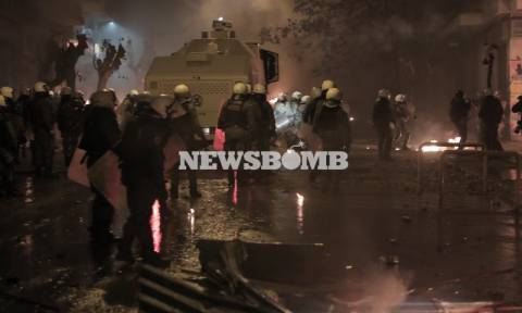 Επέτειος Γρηγορόπουλου: 13 συλλήψεις και 3 τραυματίες από τα επεισόδια στο κέντρο της Αθήνας
