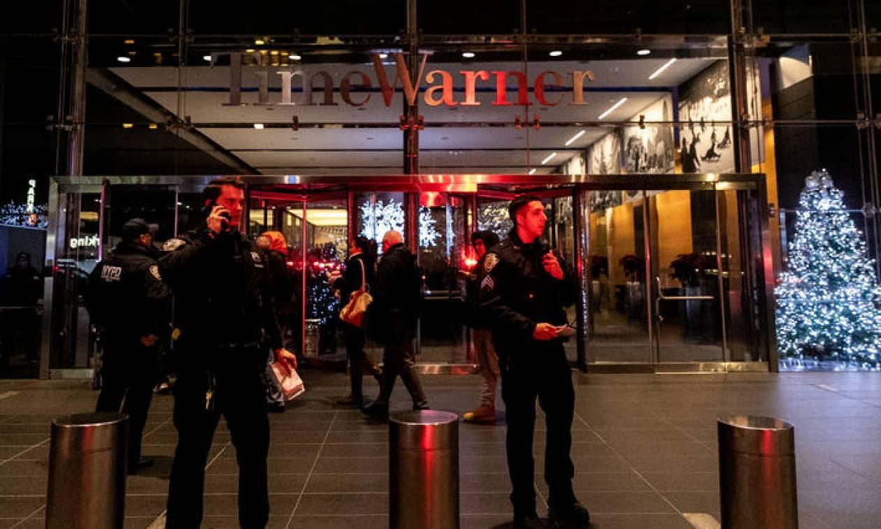 Πανικός στα γραφεία του CNN στη Νέα Υόρκη μετά από τηλεφώνημα για βόμβες