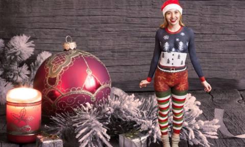 Χριστουγεννιάτικο body painting - Θα το τολμούσατε; (pics)