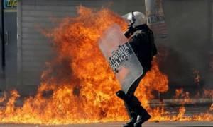 В результате беспорядков в Афинах задержаны 66 человек