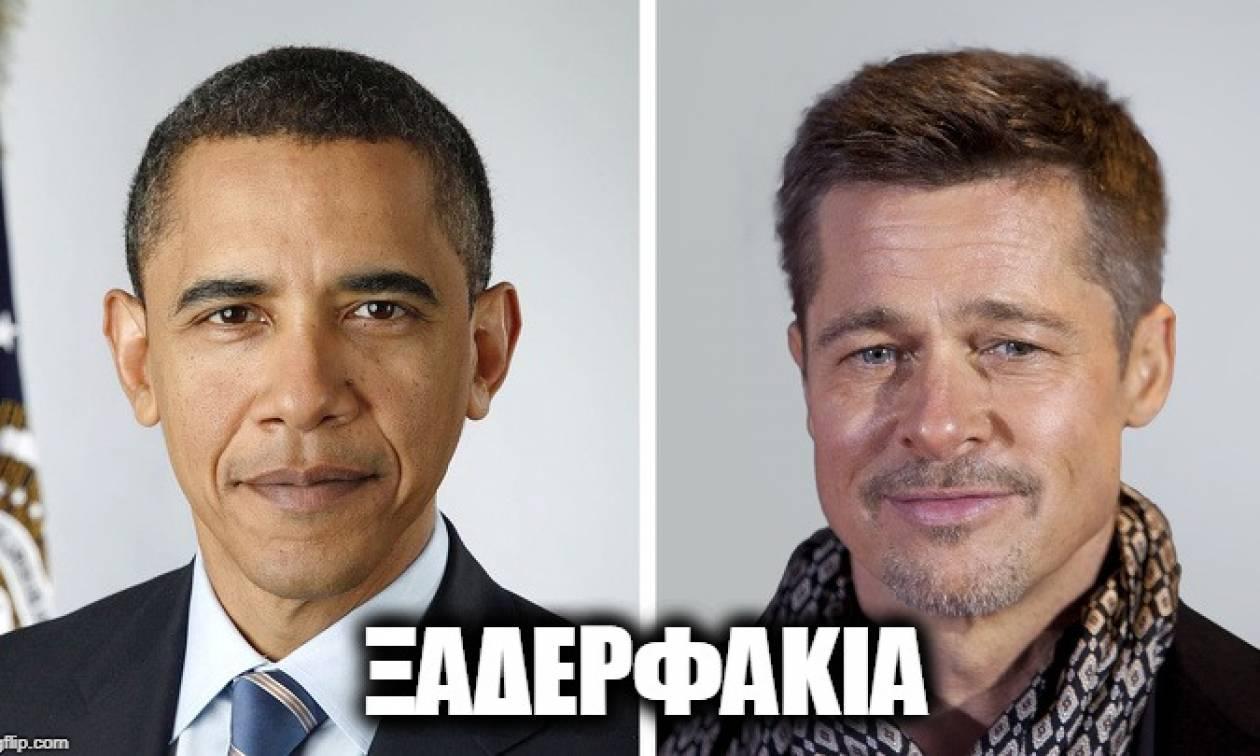 Δεν είναι δυνατόν! Δείτε με ποιον λευκό είναι συγγενής ο Ομπάμα! (pics)