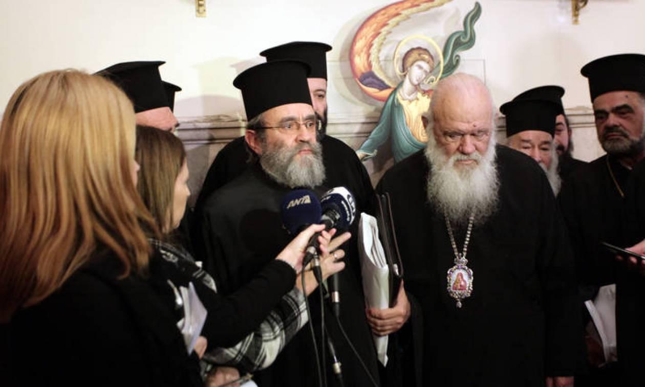 Ιερώνυμος σε κληρικούς: Θα υπερασπιστώ τα δικαιώματά σας