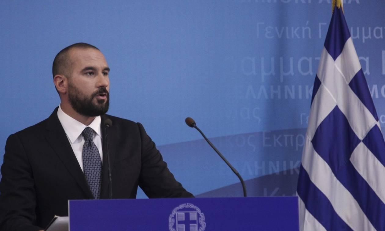 Τζανακόπουλος: Θα κάνουμε ό,τι χρειάζεται για να γίνει σεβαστή από τα Σκόπια η Συμφωνία των Πρεσπών