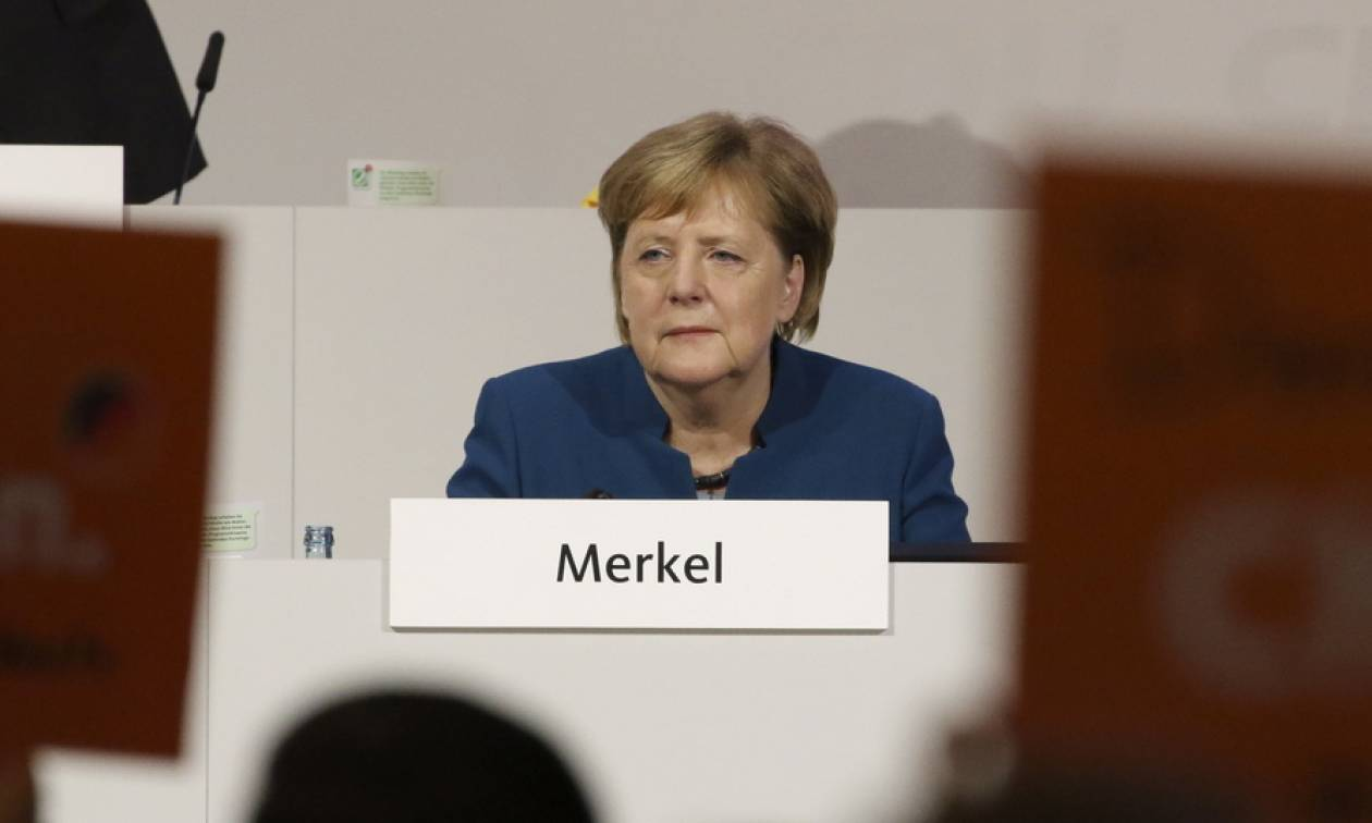 Γερμανία: Βούρκωσε η Μέρκελ στην αποχαιρετιστήρια ομιλία της στο συνέδριο του CDU
