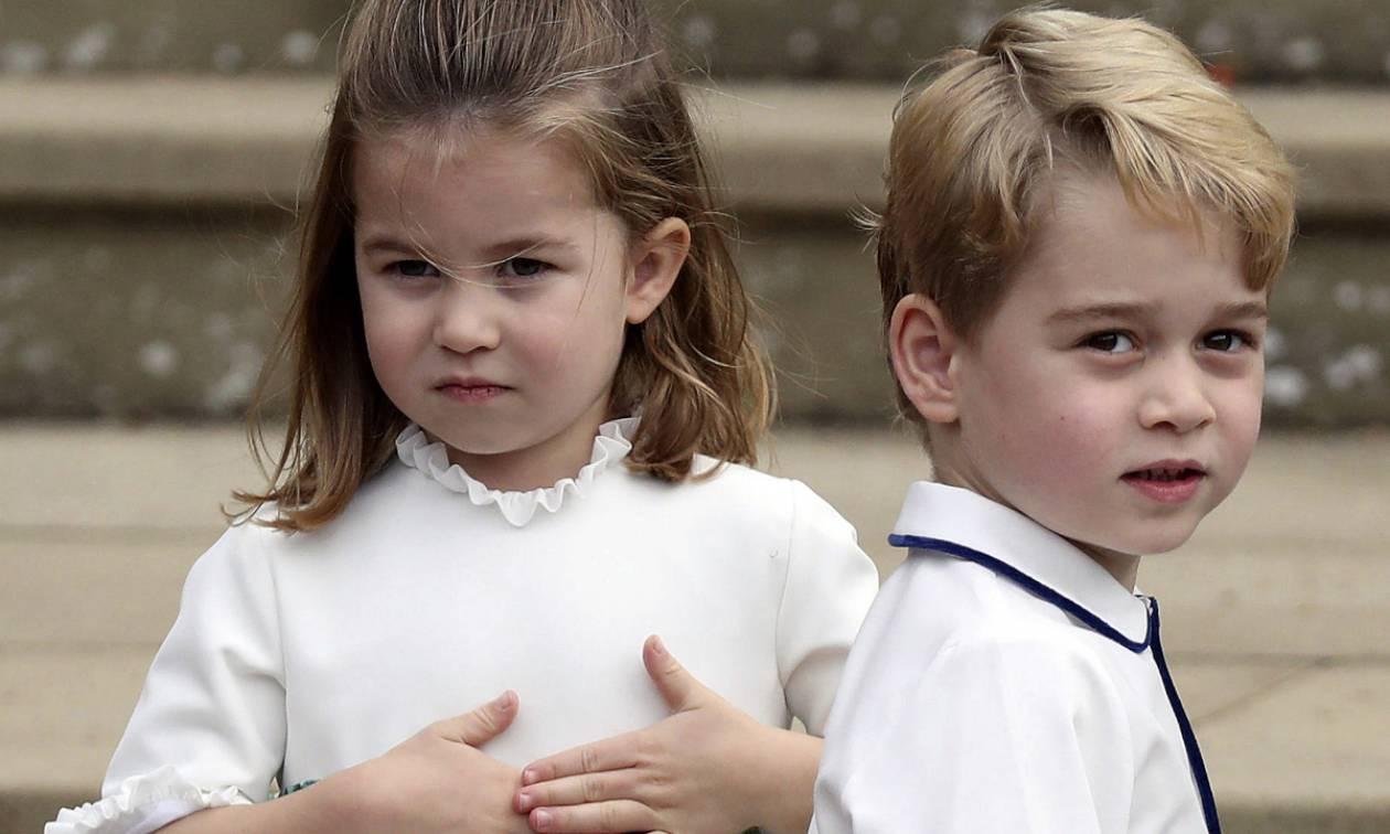 Ο πρίγκιπας George ζήτησε από τον μπαμπά του κάτι πάρα πολύ γλυκό