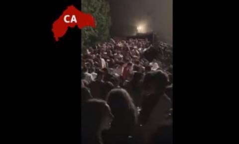 Βίντεο ντοκουμέντο από τη στιγμή της τραγωδίας σε κλαμπ στην Ιταλία