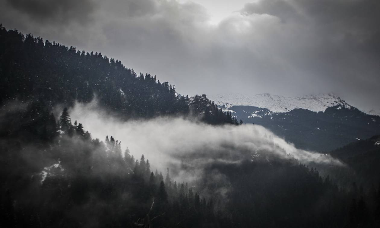 Καιρός: Με πτώση της θερμοκρασίας και πολλά μποφόρ η Δευτέρα - Δείτε πού θα χιονίσει (pics)