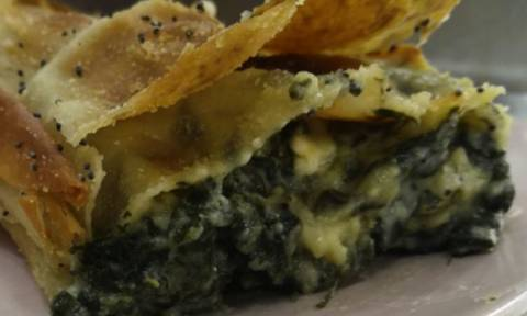 Η συνταγή της ημέρας: Σπανακόπιτα με φέτα