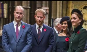 Αποκάλυψη φωτιά στο παλάτι! Ο William δεν ήθελε ο Harry να παντρευτεί τη Meghan Markle