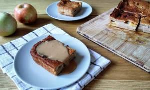 Η συνταγή της ημέρας: Πουτίγκα μήλου με σος καραμέλα γάλακτος